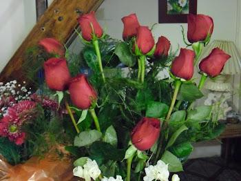 Las rosas de mis 50 años !!!