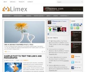 Limex WordPress Theme
