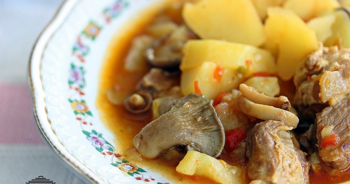 Las recetas de masero patatas con costillas en olla a presi n - Cocinar con olla express ...