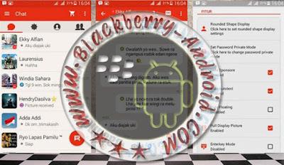 BBM Mod Tema Pathrick Terbaru v2.9.0.51 BackUp Free Sticker