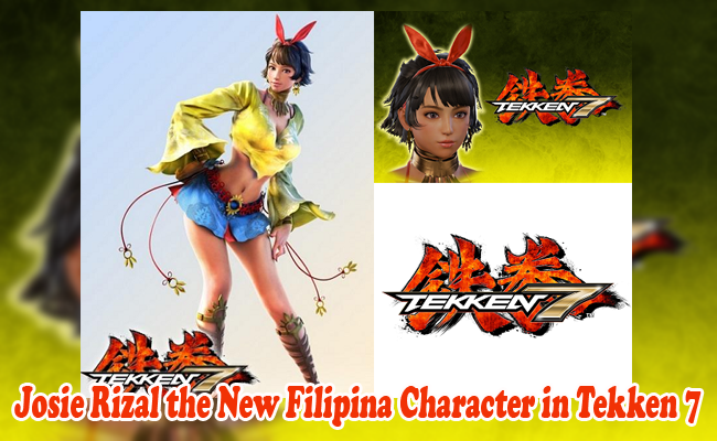 Tekken Finally Introduces the New Filipino Character Named Josie Rizal