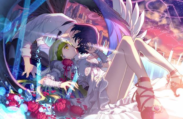c.seryl, anime angel,anime girl
