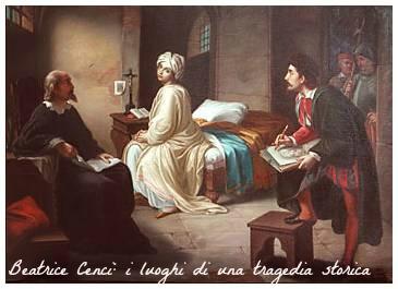 Beatrice Cenci: i luoghi di una tragedia storica