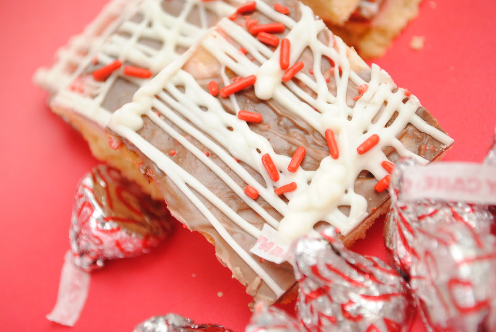 Candy Cane Kiss Shortbread Cookies Something Swanky