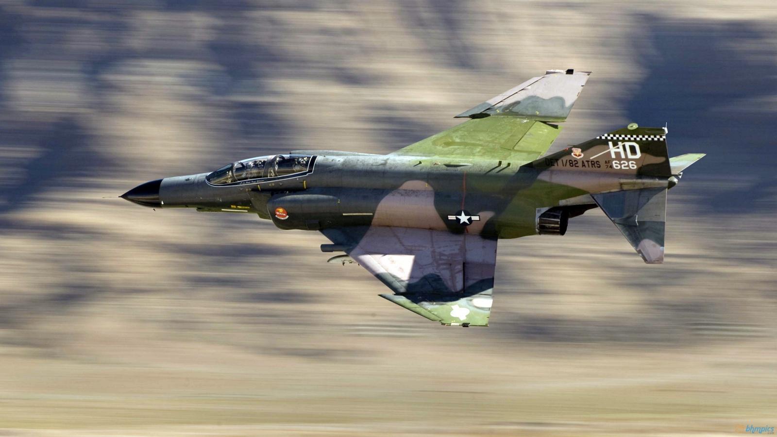F4 Plane in Sky