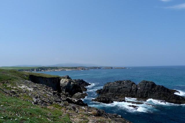 Senda Costera de  Tapia de Casariego a la Playa de Peñarronda Asturias
