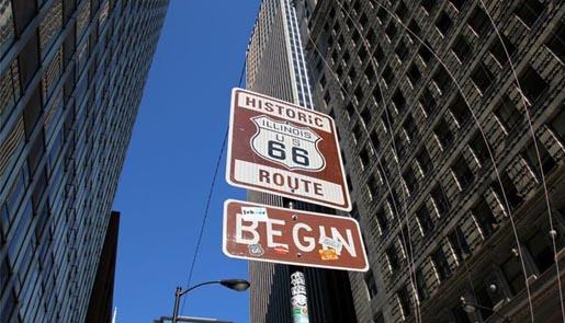 Urban Networks La Ruta 66 La Calle Mayor De Estados