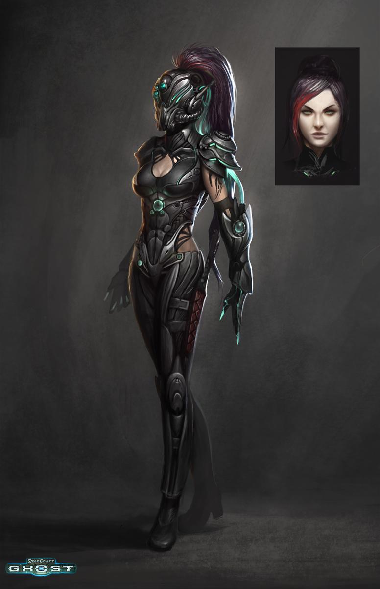 futuristic women females - photo #12