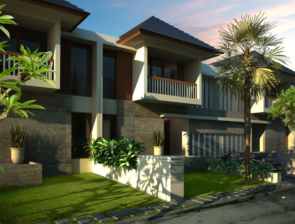 Contemporary Home Disain 7 Desain Rumah Amp Villa Idaman