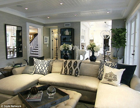 Giuliana and Bill's Family Room