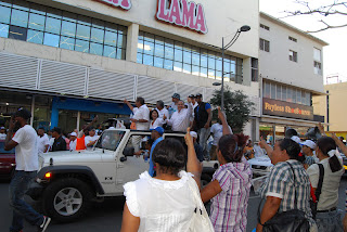 Fello afirma respaldo dado a PRD en caravana se debe al repudio de la población a los derrochadores del dinero del Estado