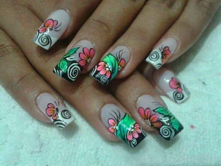 imagenes de diseños de uñas 2014