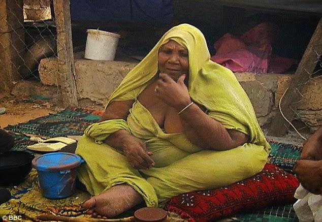 Fat Mouritania Women