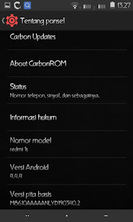 PORT ROM CARBON RC 7 ARMANI for Andromax C2 New