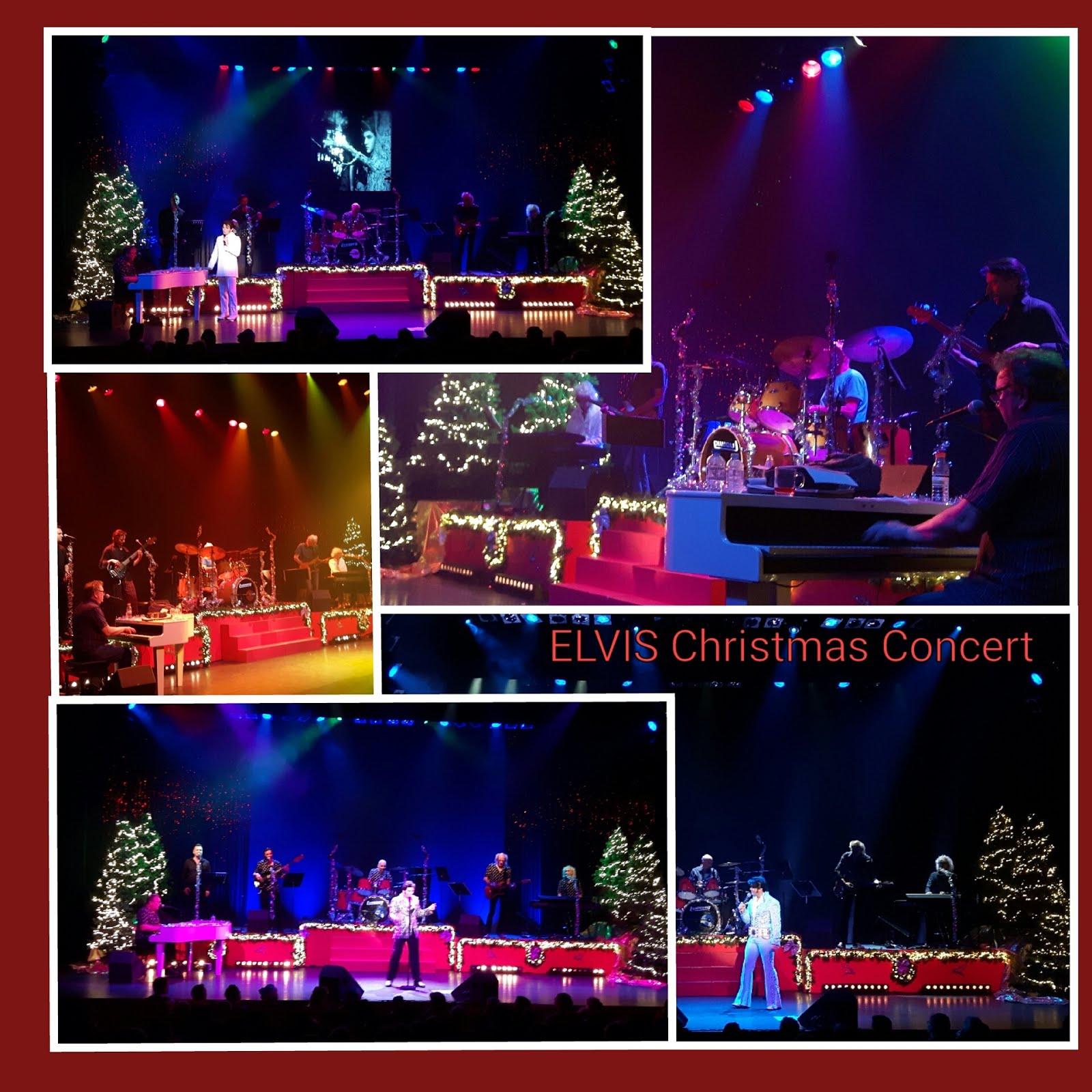 """ELVIS"" Christmasshow"