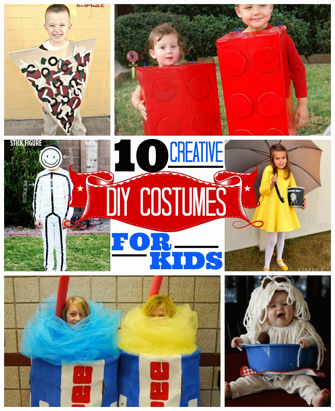 Eat sleep make 10 creative diy costumes for kids for Diy halloween costume ideas for kids