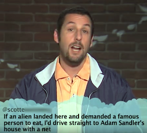 Adam Sandler Gets Mad!