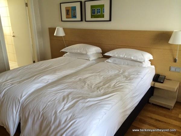 guest room at Hilton Reykjavik Nordica in Reykjavik, Iceland