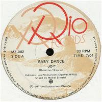 Joy - Baby Dance (1981)