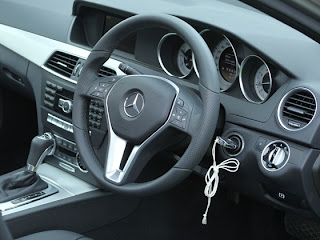new mercedes benz c220 interior and steering