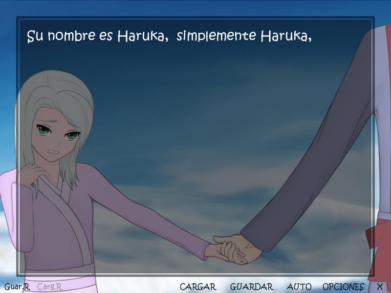 haruka novela visual android pc español descargar