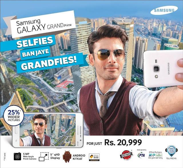 Samsung Galaxy Grand Prime Samsung Launches Galaxy Grand Prime in Pakistan
