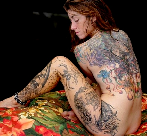 tattoos for women. women going for tattoos