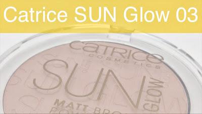 Catrice - Sun Glow Matt Bronzing Powder (03)