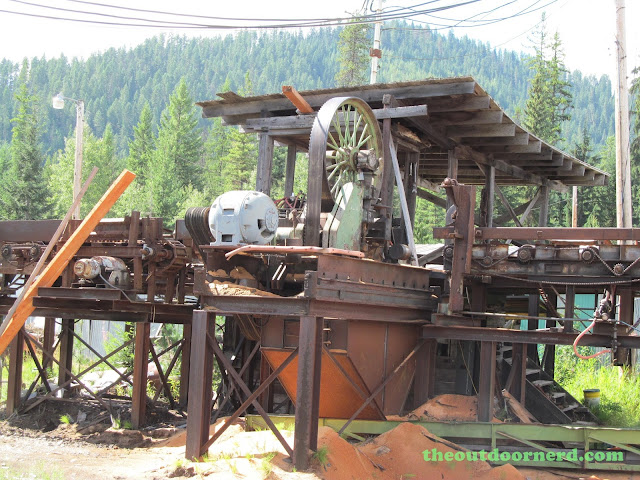 Outlet Campgrounds At Priest Lake, Idaho: Old Saw Mill 3