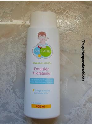emulsion hidratante biocare