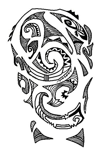 Ideas para tu tattoo: Tatuaje maorí