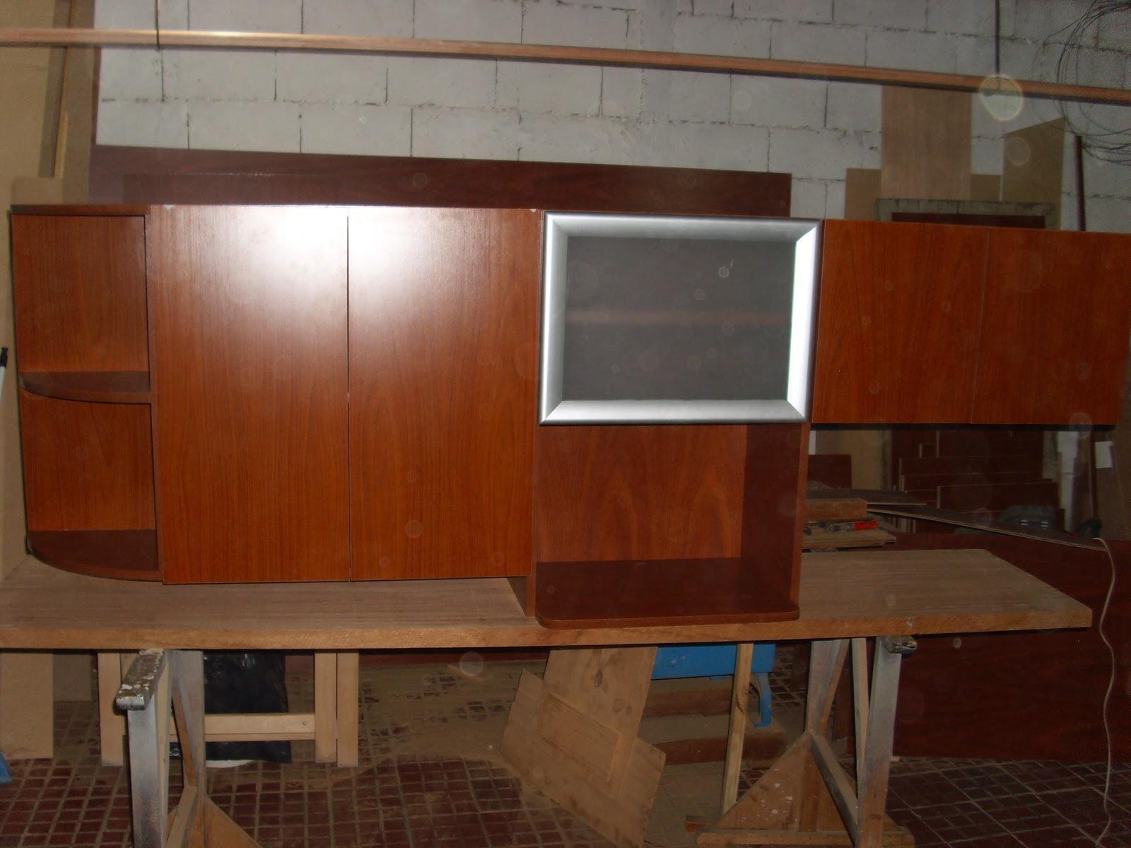 Mueble bajo mesada en juego con el mueble aéreo
