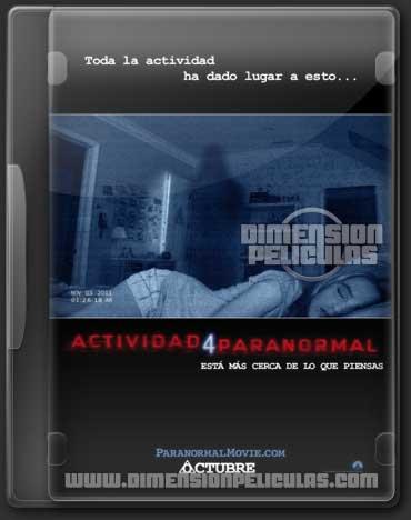 Actividad Paranormal 4 (DVDRip Inglés Subittulada) (2012)