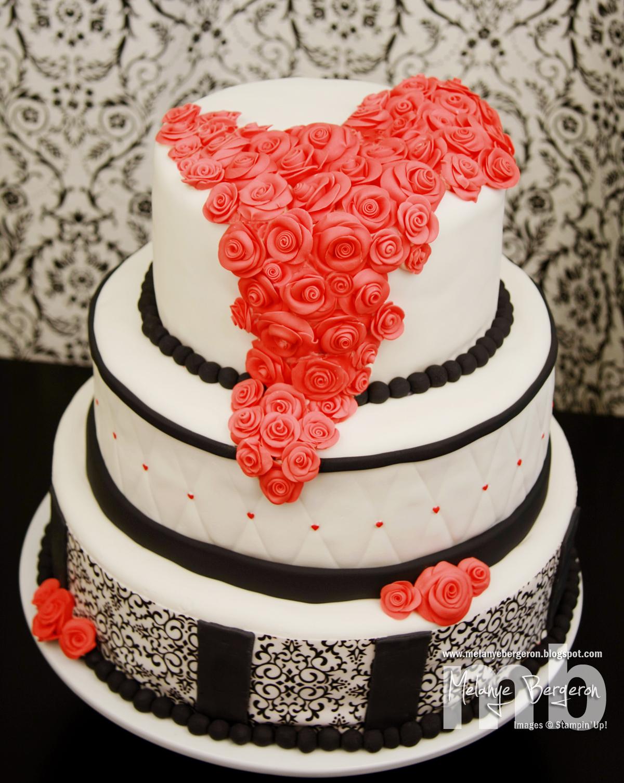 Gâteau Cascade de Roses