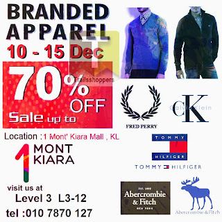 Branded Apparel Warehouse Sale 2013