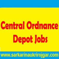 Central Ordnance Depot Mumbai Recruitment