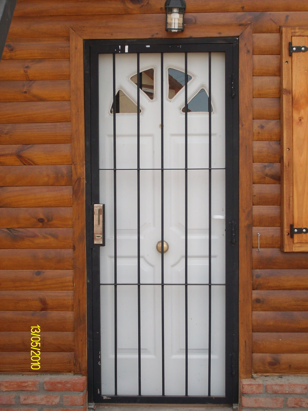 metalurgica bacigaluppe rejas para puerta