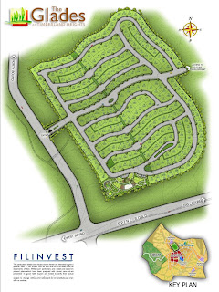 The Glades at Timberland Heights Quezon City Environs Site Development Map