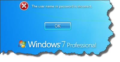 Cara Mengatasi Lupa Password Login Window 7
