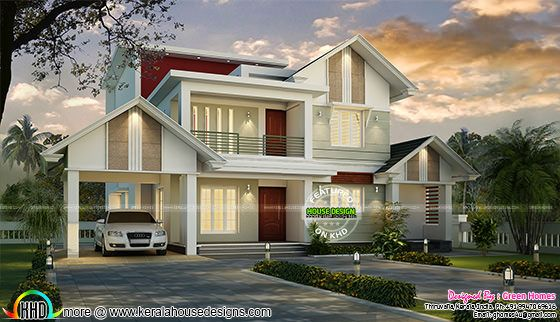 2375 square feet modern house plan