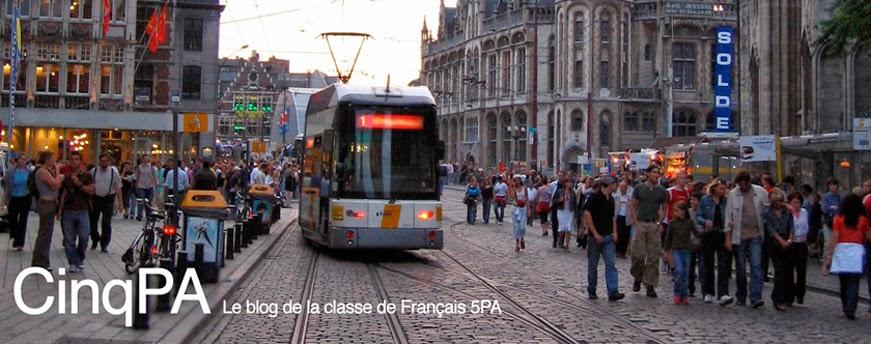 Français 5PA