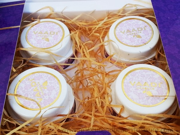 Vaadi Herbals Lavender & Rosemary Spa Facial Kit