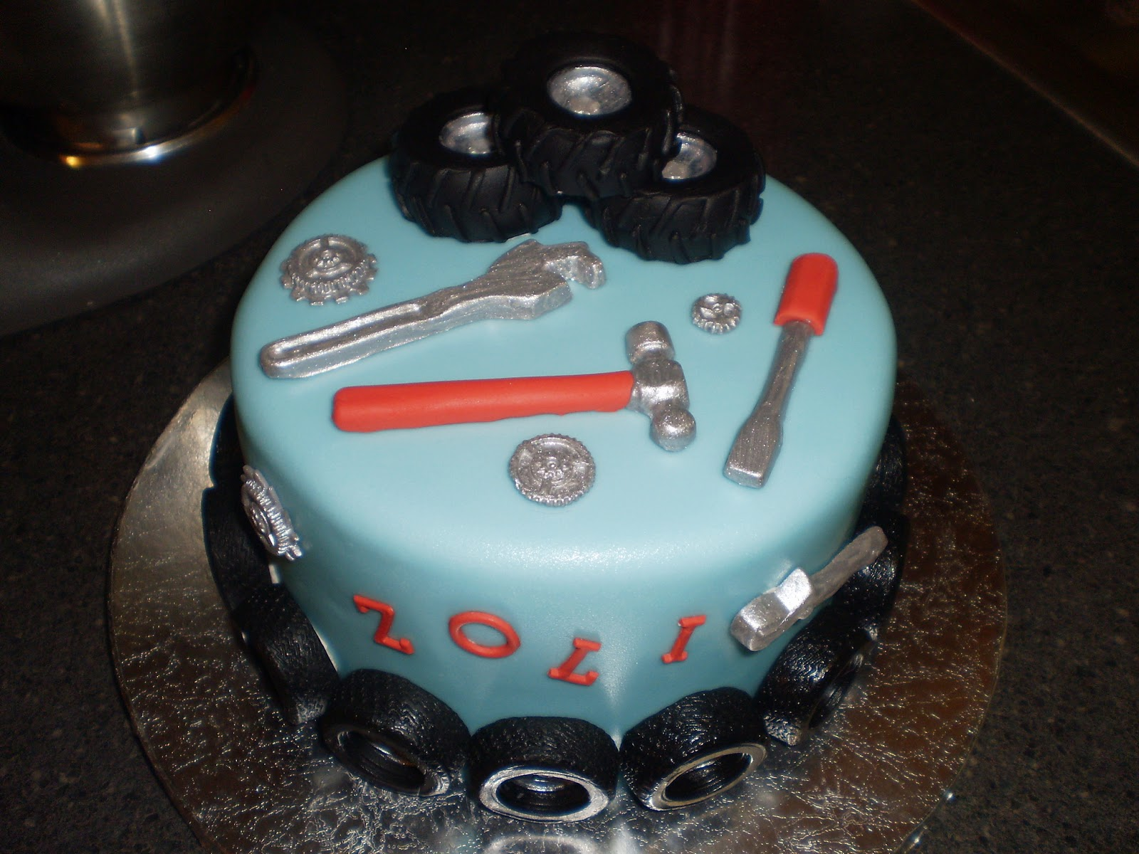 mechanic birthday cakes