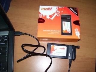 Cara Setting Mobi (Pantech PX-500) Untuk Smartfren