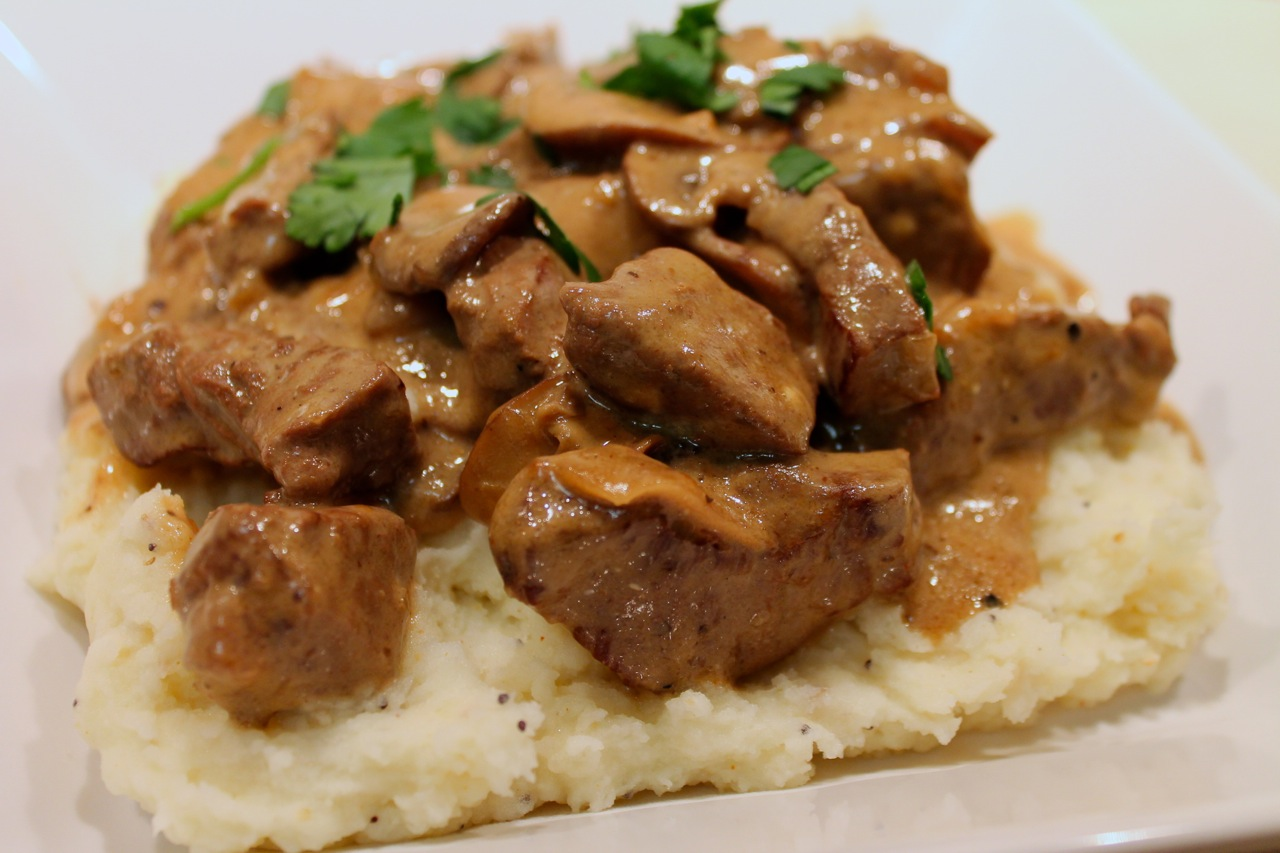 Cook In / Dine Out: Traditional Beef Stroganoff