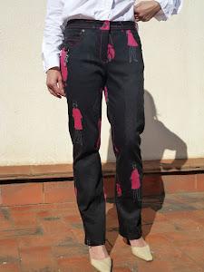 Pantalon estampado de TOYPES