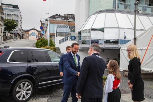 Crown Prince Haakon of Norway attended the Norwegian international Film Festival 2015