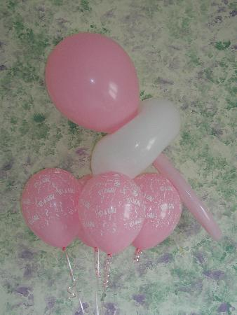 Balloon Bouquets For Boy Baby Shower5