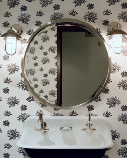 How Do I Love Thee Deco Love Round Mirrors