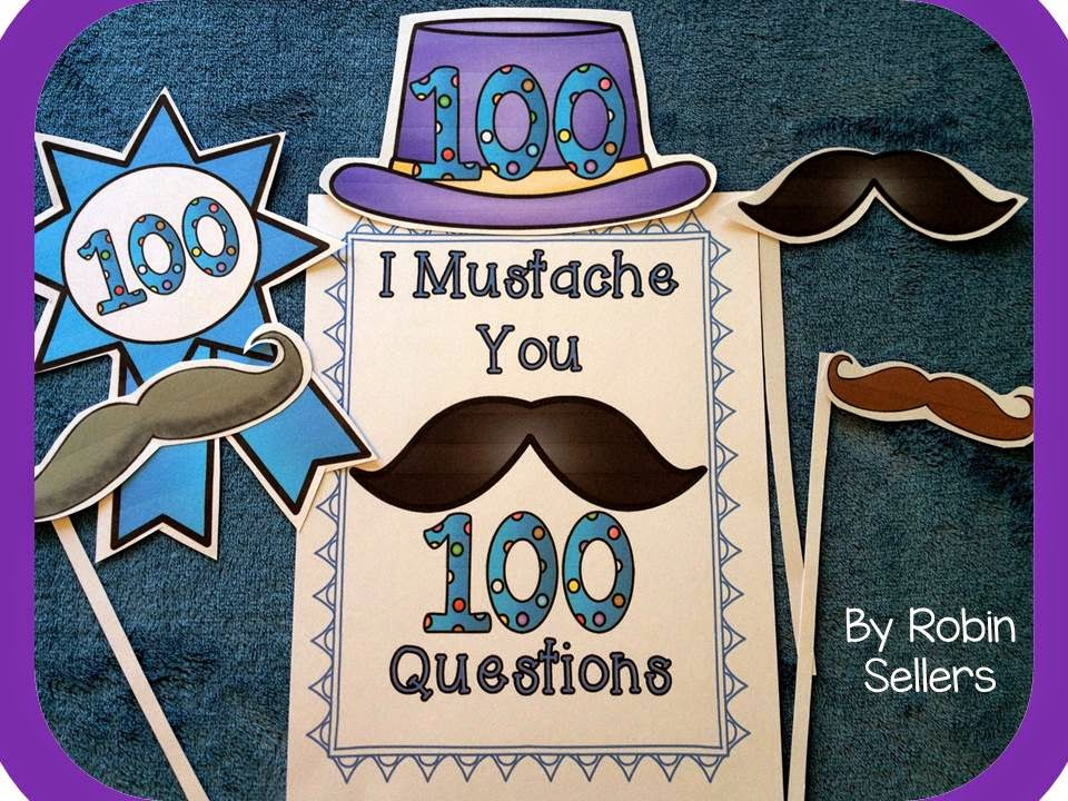 I mustache you 100 questions